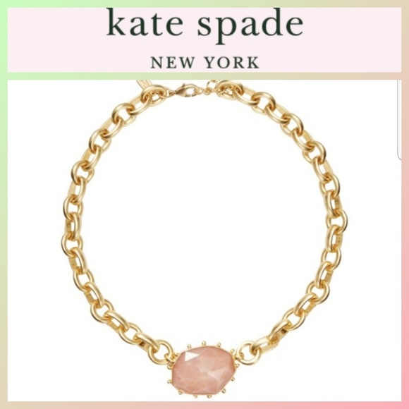 kate spade Jewelry - Kate Spade Perfectly Imperfect Collar Necklace